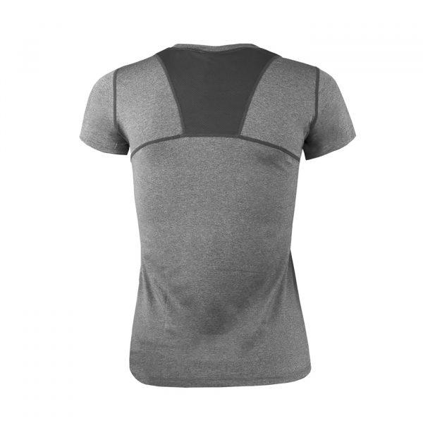 Polera Dry Fit Panel Malla Espalda Mujer