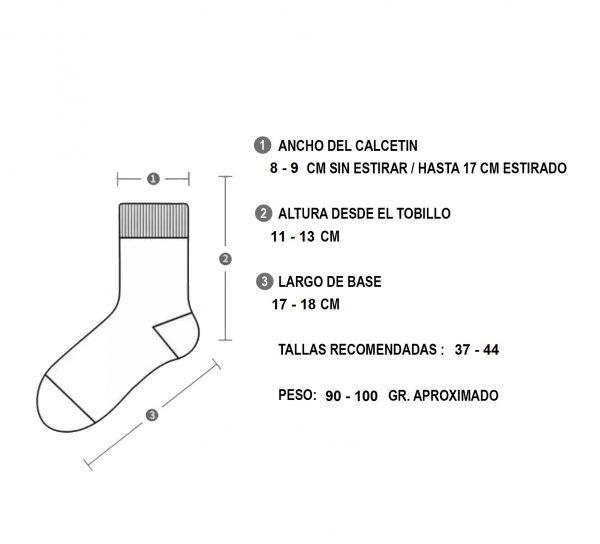 Calcetines Deportivos Secado Rapido