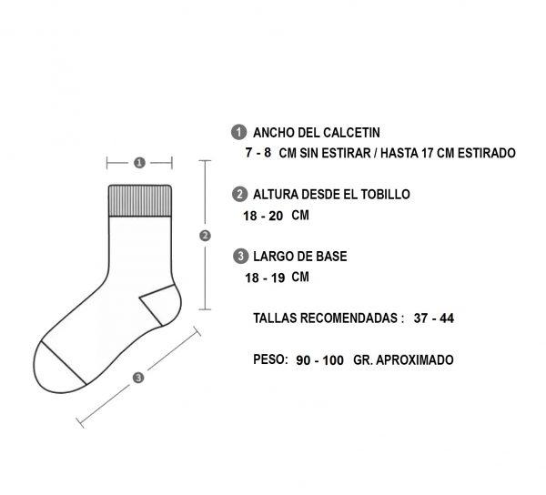 Calcetines Deportivos Antideslizantes Secado Rapido