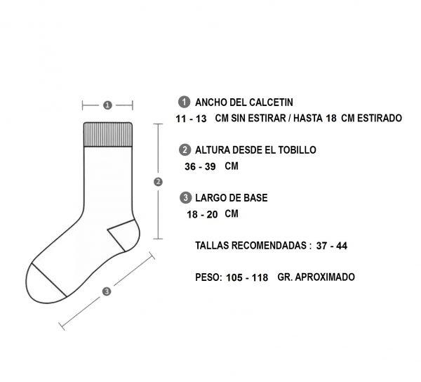 Calcetines Deportivos de Compresion Largos