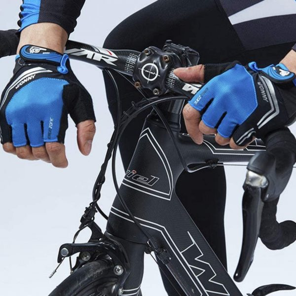 Guantes de Protección Ciclismo Gimnasio Acolchado & Antideslizantes Wonny