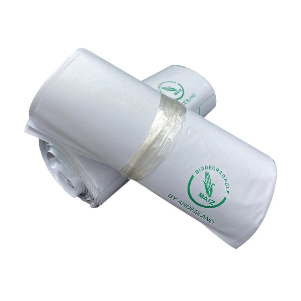 100 Bolsas Biodegradables de Courier Autoadhesivas 45x60cm