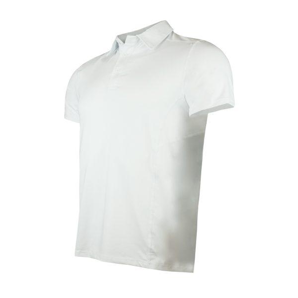 Polera DryFit Con Cuello Manga Corta Hombre